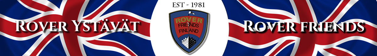 Rover Friends Autoclub in Finland